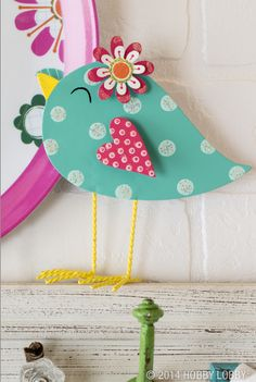 Bird decor for spring is really something to tweet about!