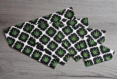 Pot Leaf Dog Bandana/ No Tie Bandana/ Cat Bandana Cat Bandana, Marijuana Leaves, Bandanas, Dog Cat, Tie, Cats, Pattern, Weed Leaves, Gatos