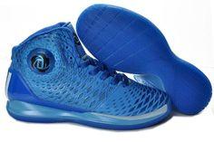 Adidas AdiZero Derrick Rose 3.5 Game Royal Blue Basketball 2013 Shoes