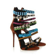 Sandals - Shoes Giuseppe Zanotti Design Women on Giuseppe Zanotti Design Online Store @@Melissa Nation@@ - Spring-Summer collection for men and women. Worldwide delivery.| E40053 001
