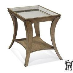 Bassett Mirror Co T2641-200EC Arcos End Table