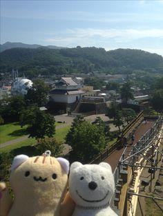 クマ散歩:舞鶴城公園に品行方正なクマ出没2 The Bear took a walk around Maizuru Castle Park Pt.2!♪☆(^O^)/  #舞鶴城#クマ出没#品行方正