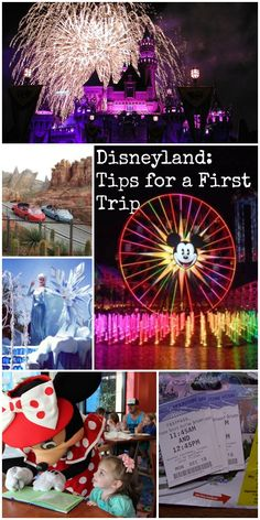 Disneyland: Tips for Your First Trip | 1st Time Guide to Disneyland #traveltips First Disneyland, Disneyland Dining, Disneyland Vacation, Disneyland California, Hotels Near Disneyland, Disneyland World, Disney Vacations, Disneyland Character Dining, Disneyland Tickets