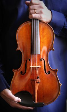 A Stradivarius viola, one of the most rare instruments in the world.