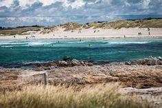 La Torche Image Surf, Western Coast, Seaside Beach, Take Better Photos, Ocean Creatures, France Travel, Wanderlust Travel, Beautiful Landscapes, Waterfall