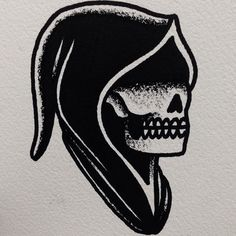 Grim reaper tattoo reaper tattoo and american traditional for Tattoo frederick md