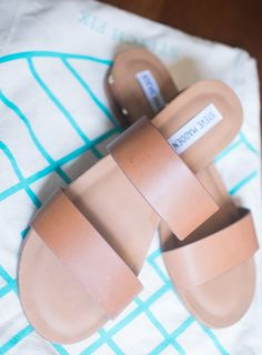 Steve Madden Dakota Two Strap Slide Sandal Stitch Fix Review April 2017