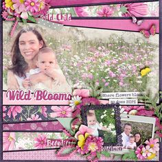 Kit: Fields of Dreams - KimB Template: Stand out Vol 6 - Meagan's Creations Font: Marmellata (Jam)