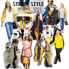 """yellow in street"" by agfs on Polyvore"