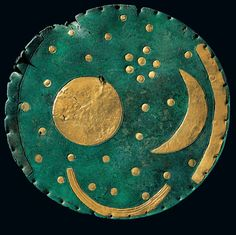 From UNESCO's 'Memory of the World', the Nebra Sky Disc.