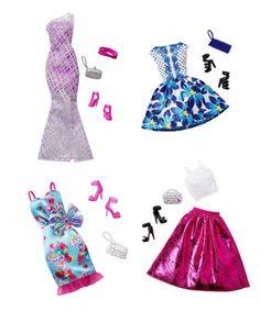 "Barbie ""Complete Look"" Fashion Packs! Original Barbie Doll, Barbie Doll Set, Baby Barbie, Doll Clothes Barbie, Barbie Doll House, Barbie Toys, Beautiful Barbie Dolls, Barbie Dress, My Life Doll Clothes"