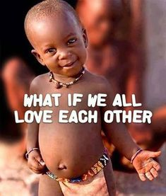 What a wonderful world it would be! #LuvIsStrongerThanHate ♡ #Free2Luv