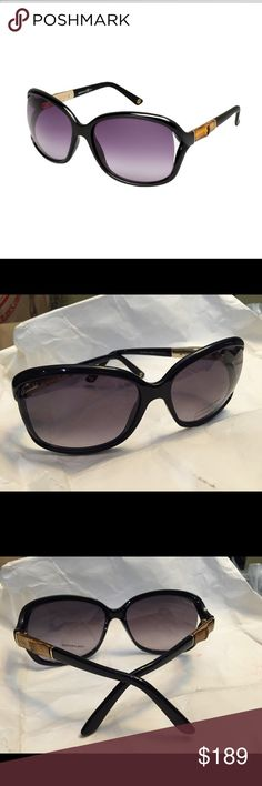 9622868311d43 Gucci 3671 S Gucci 3671 S Sunglasses Shiny Black Smoke polarized 61 MM Gucci  Accessories Glasses