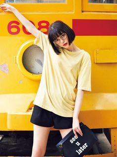 私服,ワンピース,オールインワン,Tシャツ,vivi9月号,ファッション,夏服,ViViモデル,玉城ティナ,2017年9月号