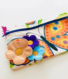 Items similar to Flower zipper pouch, Make up Bag, Toiletry Bag on Etsy Toiletry Bag, Embroidery Thread, Zipper Pouch, Canvas Fabric, Teacher Gifts, Sunglasses Case, Cotton Fabric, Great Gifts, Coin Purse