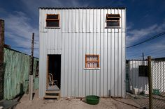 urban think tank introduces the empower shack to the slums of western cape
