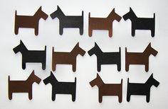 Die Cut Dog Cards DIY Scrapbooking 8pcs Paper by Paperquick, $1.75