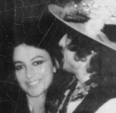 Bob and Ruth Tyrangiel, Rolling Thunder Revue tour, 1975.
