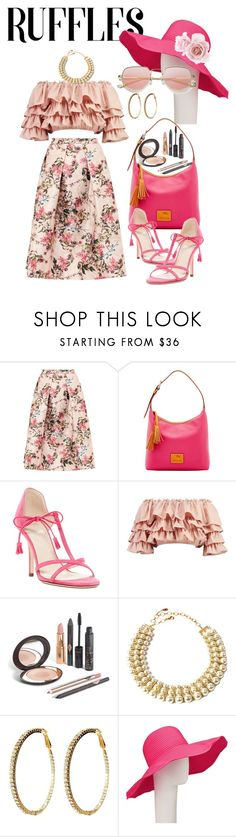""""""".... no ridges"""" by daincyng ❤ liked on Polyvore featuring Ted Baker, Dooney & Bourke, Frances Valentine, Boohoo, Amrita Singh, John Lewis and ruffledtops"""