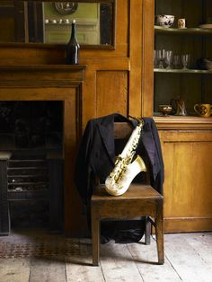 Learn play the saxophone.