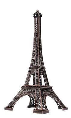 Eiffel Tower Statues  An elegant statue of France's iconic Eiffel Tower.  These Eiffel Tower statues will remind you of your most precious Parisian moments wherever you choose to display it. With exceptional detail throughout the French statue, our Eiffel Tower statues are also great as centerpieces for your party, wedding or event.  These statues come in a variety of sizes.  Paris souvenirs.  http://www.nycwebstore.com/detail.aspx?PRODUCT_ID=KTF-ETCM7