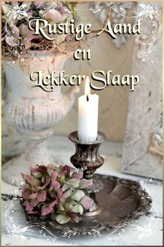 Goeie Nag, Goeie More, Sleep Tight, Afrikaans, Good Night, Qoutes, Nature Photography, Candle Holders, Candles