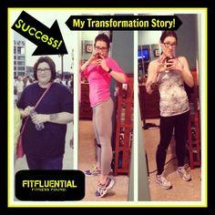 Inspiring story of weight loss success! #FitFluential http://fitfluential.com/2013/04/fitfluential-transformation-amanda-fraijo-tobin/