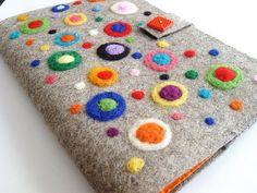 wet felt notebook cover