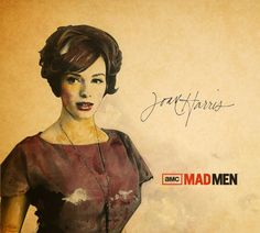 Joan Harris. Mad Men.