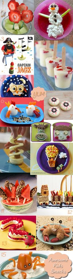 KidStyleFile Roundup: 15 Top Healthy Snacks for Kids - KidStyleFile - http://www.kidstylefile.com.au/2013/07/04/kidstylefile-roundup-15-top-healthy-snacks-for-kids/?utm_campaign=coschedule&utm_source=pinterest&utm_medium=Uprising%20Wellness