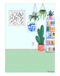Living Room | The Illustrai