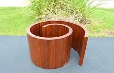 VLADIMIR KAGAN SNAIL COFFEE TABLE SELIG DANISH MID CENTURY MODERN WALNUT