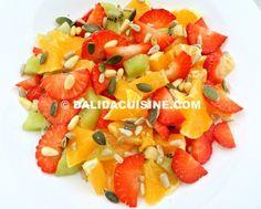 Dieta Rina Meniu Vitamine Ziua 8 -PRANZ Rina Diet, Dalida, Loose Weight, Fruit Salad, Cantaloupe, Recipies, Deserts, Food And Drink, Health Fitness