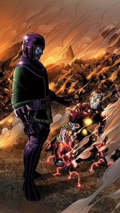 Kang, The Conqueror Comic Book Artists, Comic Book Characters, Marvel Characters, Marvel Fan Art, Marvel Comics Art, Young Avengers, New Avengers, Marvel Villains, Marvel Heroes