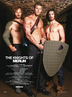 Rupert Young, Tom Hopper, and Eoin Macken