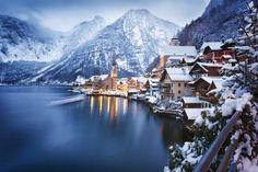 Hallstatt na Austria - a pérola dos Alpes