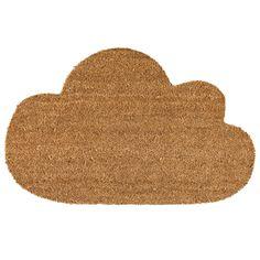 Paillasson nuage en coco et plastique Sky Bloomingville