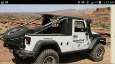 ::: Jeep® ActionCamper© - fully equipped expedition ready slide-in camper / by ActionCamper Inc ::: Wrangler Unlimited, Wrangler Jk, Jeep Brute, Slide In Camper, Truck Bed Covers, Roll Cage, Rear Window, Rear Seat, Monster Trucks