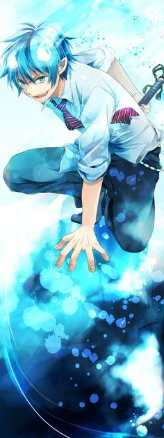Blue exorcist / Rin
