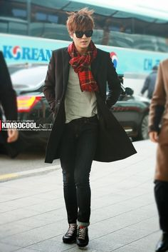 nice HD Photo: LeeMinHo in Incheon Airport ^^