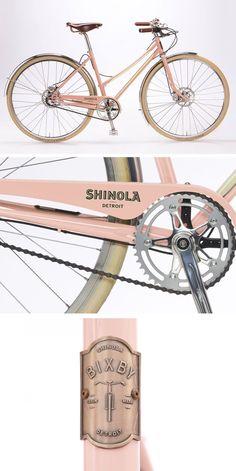 SHINOLA Bixby Internal 3 Speed Hub, Disc Brakes