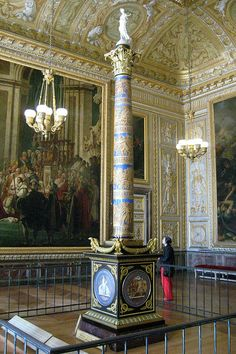 Museum of the History of France at Versailles Historical Architecture, Amazing Architecture, Architecture Details, Chateau Versailles, Palace Of Versailles, Palace Interior, Luxury Interior, Fontainebleau, Louis Xiv