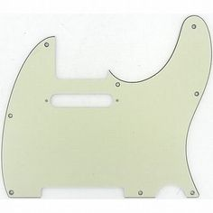 Fender Accessories 099-2154-000 Telecaster Electric Guitar Pickguard by Fender. $19.11. Telecaster Pickguard, Mint Green 3-ply (MG/B/MG), 8 Hole. Fits American Series, American Standard, Hot Rod and Deluxe Series Telecasters (USA), Standard and Deluxe Series Telecasters (Mexican).