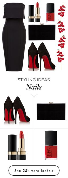 """Classic"" by nuetralvibe on Polyvore featuring NARS Cosmetics, Dolce&Gabbana, Charlotte Olympia, Christian Louboutin, DateNight, simple, classy, minimal and DinnerWear"