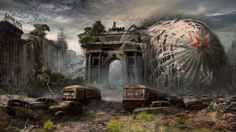 Apocalyptic Art Gallery | Sci Fi Post Apocalyptic Wallpaper/Background 1920 x 1080 - Id: 245473 ...