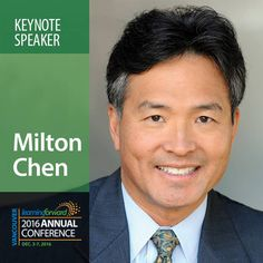 Chen, Student Success, Keynote Speakers, Social Justice, Vancouver, Conference, Innovation, Motivation, Learning