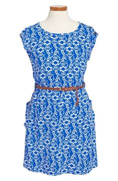 Be Bop Belted Sheath Dress (Big Girls) available at #Nordstrom