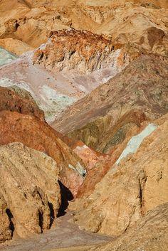 Artist Drive, Death Valley National Park - Anne McKinnell Photography