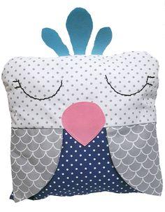 Crib Bumper BabyPillow Animal Pillows Parrot Pillow Animal Pillows, Parrot, Cribs, Unique Jewelry, Handmade Gifts, Baby, Animals, Vintage, Parrot Bird