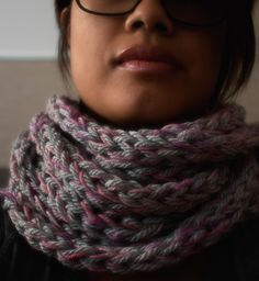 finger+arm knitting (video) +idee